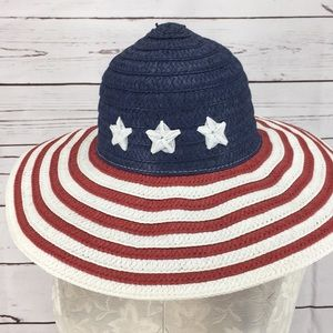 Altar'd State Large Brim Patriotic Hat